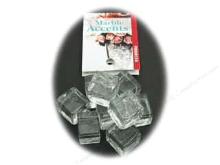 Panacea Decorative Accents Glass Ice Cubes Clear 8pc