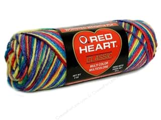Yarn, Knitting, Crochet & Plastic Canvas Worsted Weight: Red Heart Classic Yarn 4ply Star Brights