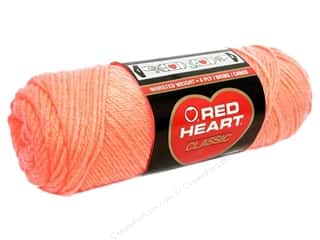 Blend Hot: Red Heart Classic Yarn 4ply Sea Coral
