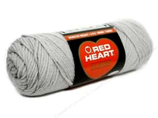 Yarn, Knitting, Crochet & Plastic Canvas: Red Heart Classic Yarn 4ply Silver