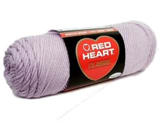 Light Worsted yarn: Red Heart Classic Yarn #579 Light Lavender 190 yd.