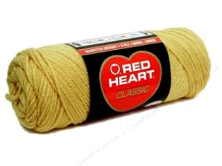 Red Heart Classic Yarn 4ply Honey Gold