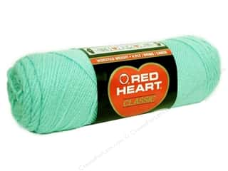 Red Heart Classic Yarn 4ply Mist Green