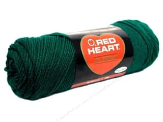 Christmas Yarn & Needlework: Red Heart Classic Yarn 4ply Forest Green