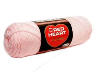 Clearance Blumenthal Favorite Findings: Red Heart Classic Yarn 4ply Lily Pink