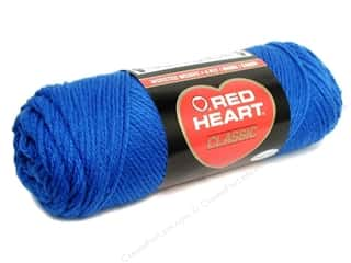 Yarn & Needlework Blue: Red Heart Classic Yarn 4ply Skipper Blue