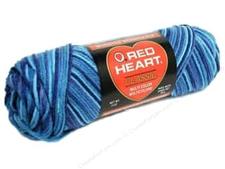 Red Heart Classic Yarn 4ply Shaded Teals