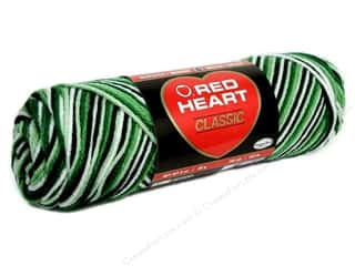 Yarn Christmas: Red Heart Classic Yarn 4ply Shaded Greens