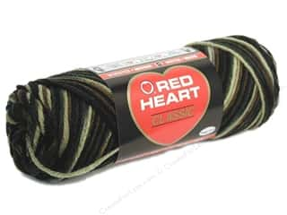 Red Heart Classic Yarn 4ply Camouflage