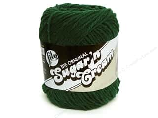 Sugar'n Cream Yarn Dark Pine 2.5oz