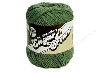 Yarn & Needlework: Lily Sugar 'n Cream Yarn  2.5 oz. #84 Sage Green