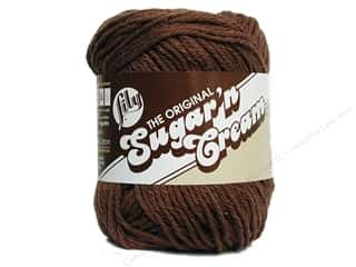 Sugar'n Cream Yarn Warm Brown 2.5oz