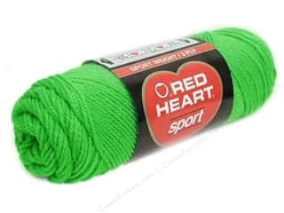 Red Heart Sport Yarn #652 Limeade 2.5 oz.
