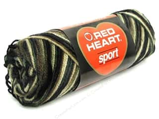 Red Heart Sport Yarn Camoflauge 2.5 oz.