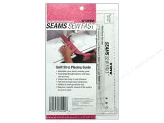 O'lipfa Seams Sew Fast Strip Piecing Guide Clear