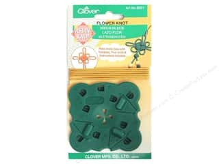 Cording Flowers: Clover Asian Knot Template Flower