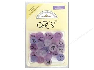 Doodlebug ABC&#39;s Round 32 pc Lilac