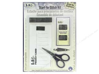 tapestry needle: LoRan /Dritz Start-to-Stitch Kit