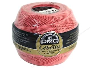 cotton yarn: DMC Cebelia Crochet Cotton Size 10 #603 Pretty Pink