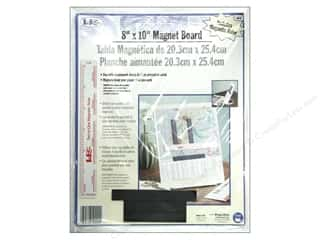 LoRan /Dritz Magnet Board 8&quot;x 10&quot; with Ruler
