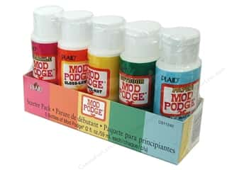 Plaid Mod Podge Starter Set 5 pc