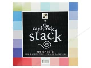 DieCuts 12 x 12 in. Paper Stack Match Makers Brights
