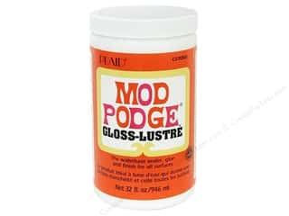 Glues/Adhesives: Plaid Mod Podge Gloss 32 oz