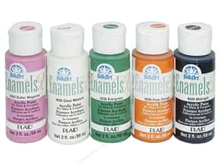 Weekly Specials Paint: Plaid® FolkArt® Enamels™ Paint 2 oz, SALE $1.99-$2.89.