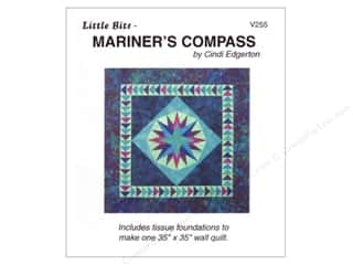 Bits 'n Pieces Quilting Patterns: A Very Special Collection Little Bits-Mariners Compass Pattern