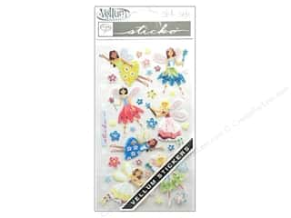 EK Sticko Stickers Vellum Friendly Fairies