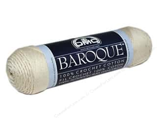 cotton yarn: DMC Baroque Crochet Cotton Thread 416 yd. Ecru