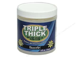 DecoArt Triple Thick Gloss Glaze 8 oz.