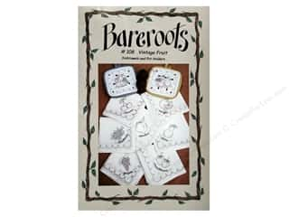Blueberry Backroads Needlework Patterns: Bareroots Dishtowels & Pot Holders Vintage Fruit Pattern