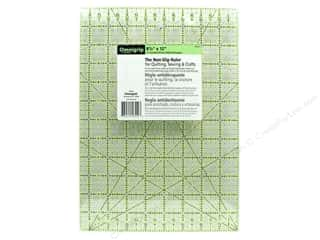 Omnigrid Omnigrip Non-Slip Neon Ruler 8.5&quot;x 12&quot;