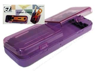 Organizers Sewing & Quilting: EZ Accessories Cutter Cubby Purple