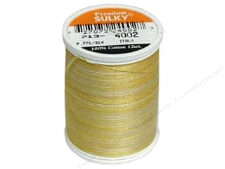 Sulky Sulky Blendables Cotton Thread 12 wt. 330 yd: Sulky Blendables Cotton Thread 12 wt. 330 yd. #4002 Buttercream