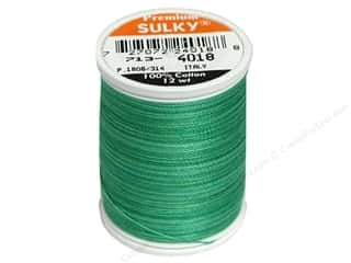 Warm and Natural: Sulky Blendables Thread 12 wt. 330 yd. Summer Grass