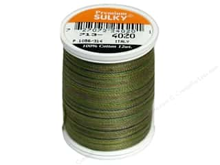 Sulky Brown: Sulky Blendables Cotton Thread 12 wt. 330 yd. #4020 Moss Medley