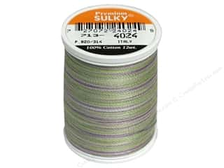 Sulky Sulky Blendables Cotton Thread 12 wt. 330 yd: Sulky Blendables Cotton Thread 12 wt. 330 yd. #4024 Heather