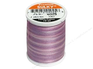 Sulky Sulky Blendables Cotton Thread 12 wt. 330 yd: Sulky Blendables Cotton Thread 12 wt. 330 yd. #4025 Hydrangea