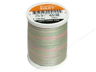 Threads Spring: Sulky Blendables Cotton Thread 12 wt. 330 yd. #4102 Spring Garden