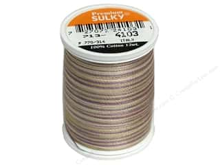 Sulky Sulky Blendables Cotton Thread 12 wt. 330 yd: Sulky Blendables Cotton Thread 12 wt. 330 yd. #4103 Pansies