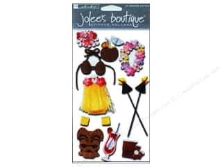 Clearance Blumenthal Favorite Findings: Jolee's Boutique Stickers Large Luau