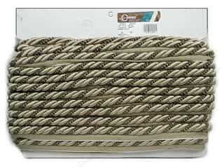 Conso Ellora Cord/Lp 3/8&quot; Sndstn, Pebble, Beaver (24 yards)