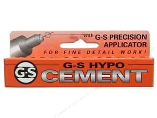 Glues Adhesives & Tapes: Beadalon G-S Hypo Cement 1/3 oz.