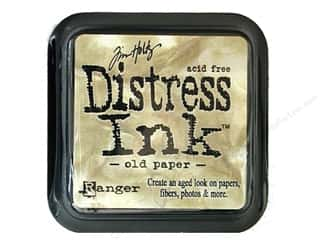 Brandtastic Sale Ranger: Tim Holtz Distress Ink Pad Old Paper by Ranger