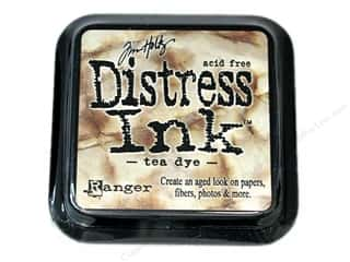 Tea & Coffee New: Tim Holtz Distress Ink Pad by Ranger Tea Dye