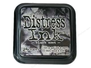 Ranger Tim Holtz Distress Ink Pads by Ranger: Tim Holtz Distress Ink Pad by Ranger Black Soot