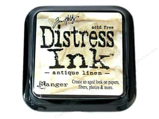 Stamping Ink Pads Tim Holtz Distress Ink Pads by Ranger: Tim Holtz Distress Ink Pad by Ranger Antique Linen