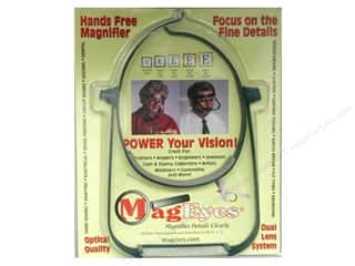 Glasses Magnifying Glasses / Reducing Glasses: MagEyes Hands Free Magnifiers with #2 & #4 Lenses